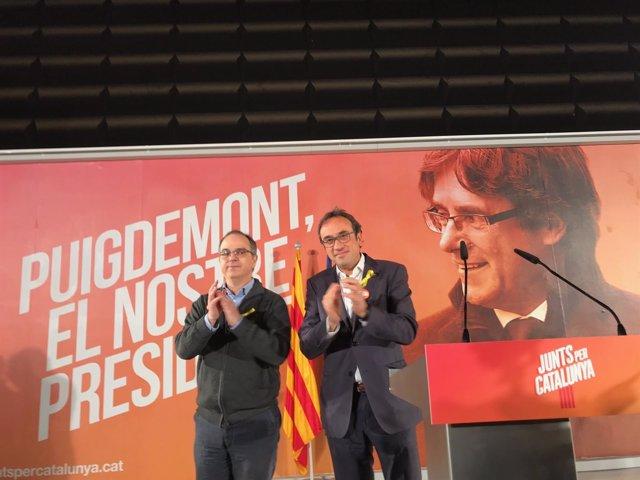 Jordi Turull , Josep Rull, PDeCAT