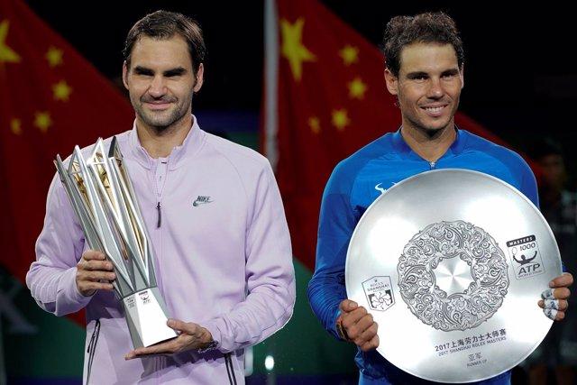 Shanghai Rafa Nadal Roger Federer