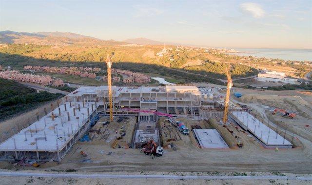 Obras hospital de Estepona