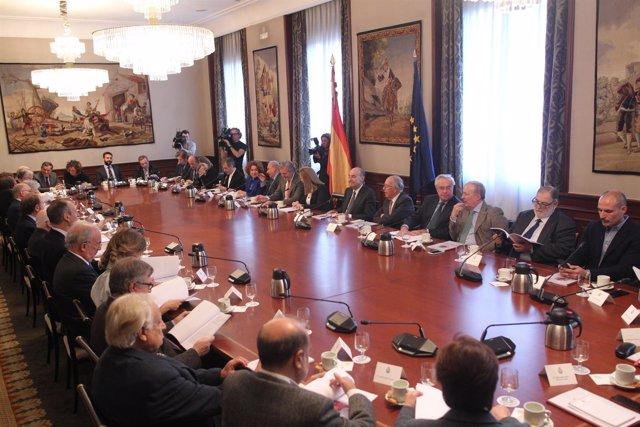 Acto de constitución del Consejo Asesor por el 40 Aniversario de la Constitución