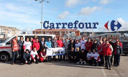 Fundación Solidaridad Carrefour dona 7.158 euros a Cruz Roja Palencia para la compra de alimentos infantiles