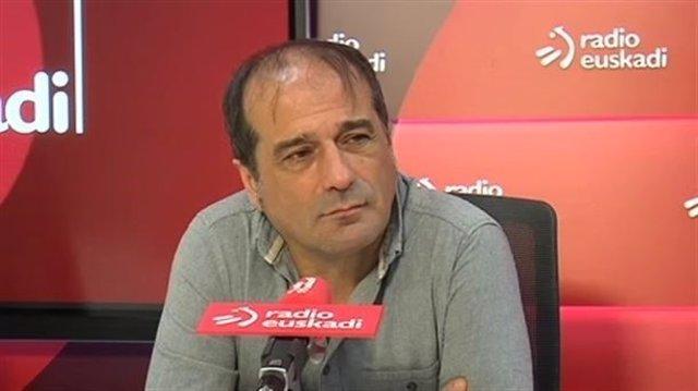 Agus Herran, del Foro Social, en Radio Euskadi