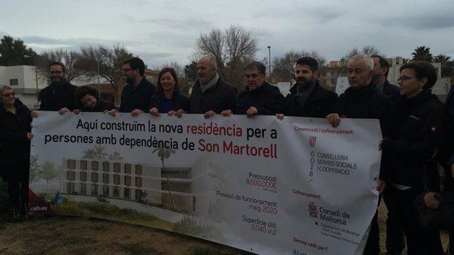 Presentación proyecto de la residencia Son Martorell