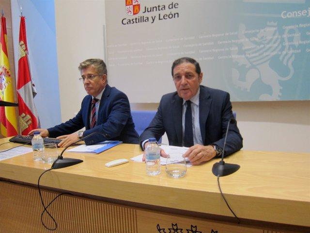 El consejero de Sanidad, Antonio María Sáez.
