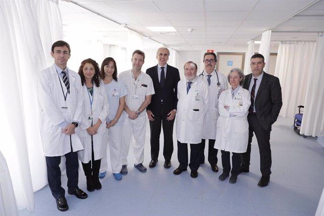 Ruiz Escudero Visita La Nueva Sala De Urgencias Generales Del Hospital La Paz El