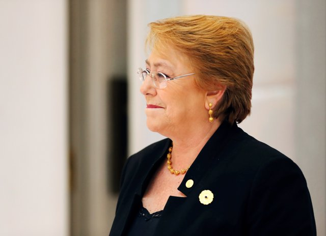 Chile's President Michelle Bachelet attends the APEC Economic Leaders' Meeting i