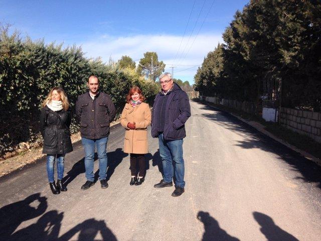 Visita a la planta de tratamiento de residuos de la construcción de Úbeda.