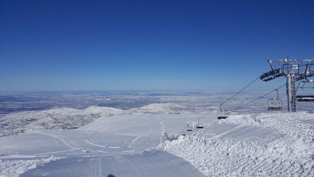 La estación de esquí de La Covatilla.