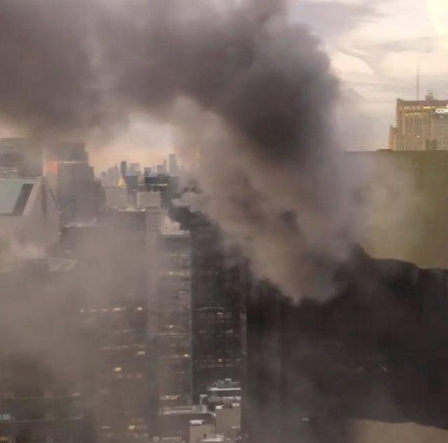 Incendio en la Torre Trump de Nueva York