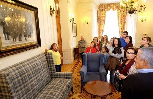 Visita guiada al Palacio de La Magdalena