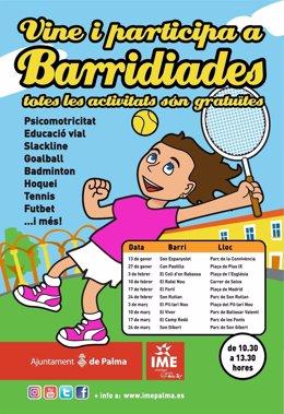 Cartel de las 'Barridiades'