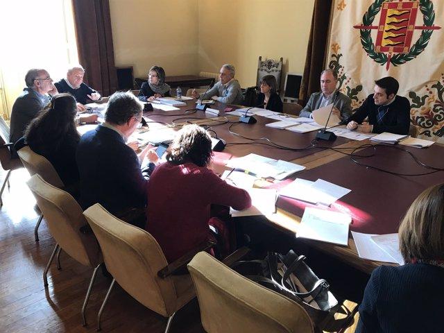 Comisión de Hacienda en el Ayuntamiento de Valladolid