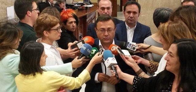 Miguel Ángel Heredia (PSOE) en el Congreso