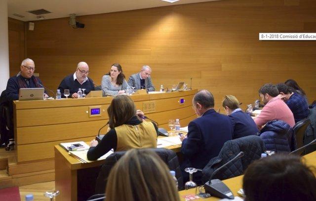 Comisión Educación y Cultura Corts Valencianes