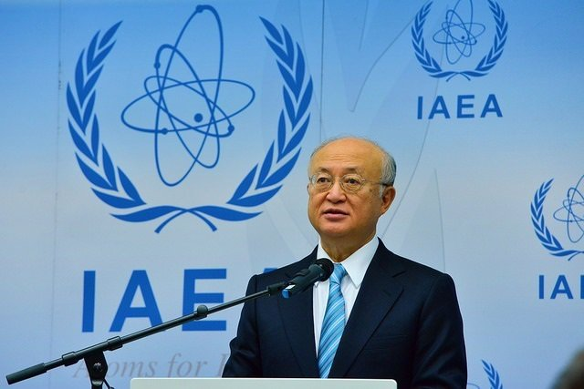 El director general se la AIEA, Yukiya Amano