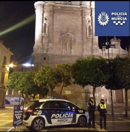 Agentes Policía Local de Murcia