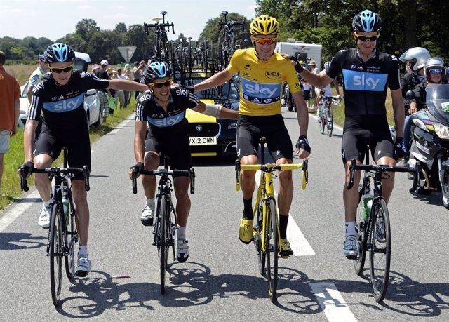 Bradley Wiggins Tour Francia