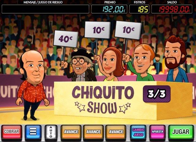 La empresa catalana MGA lanza un juego online de Chiquito en su homenaje