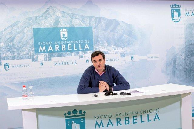 Felix Romero portavoz equipo de gobierno de Marbella