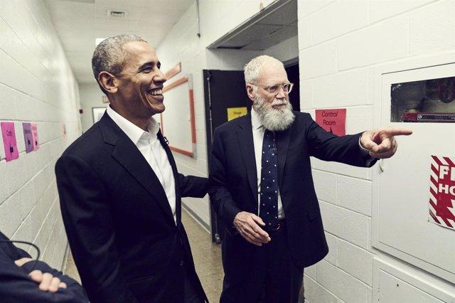 No necesitan presentación con David Letterman de Netflix