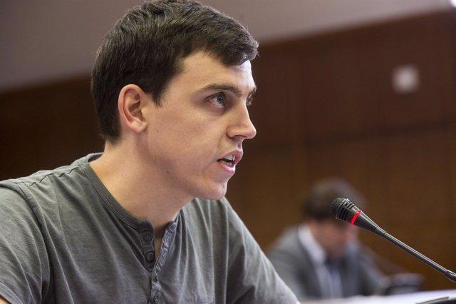 El senador de Podem Ferran Martínez