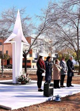 Monumento conmemorativo de las víctimas del accidente