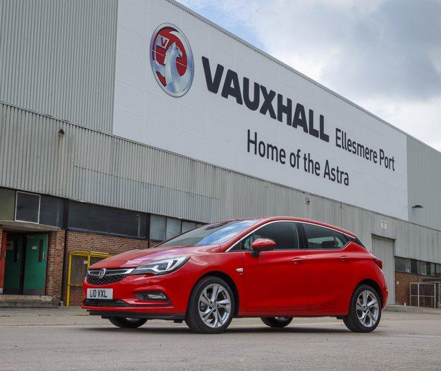 Planta de Vauxhall en Ellesmere Port (Reino Unido)