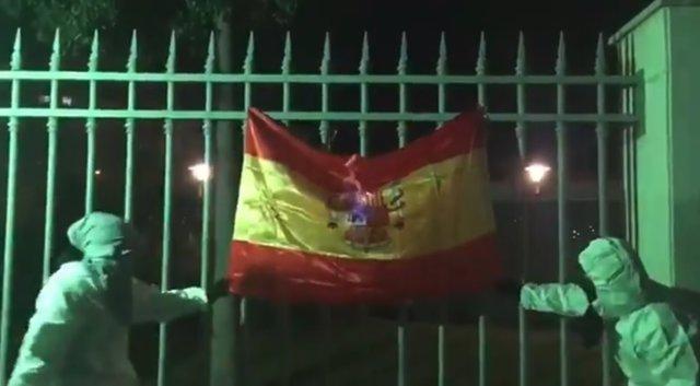 Quema de bandera