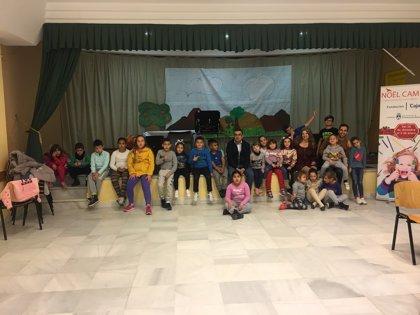 Un total de 150 alumnos participan en las actividades del proyecto 'Noël Campus' de la Fundación Cajasol