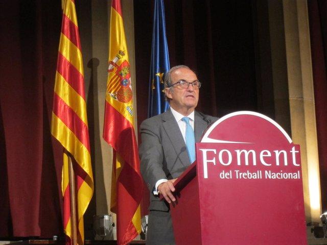 El presidente de Fomento del Trabajo, Joaquim Gay de Montellà