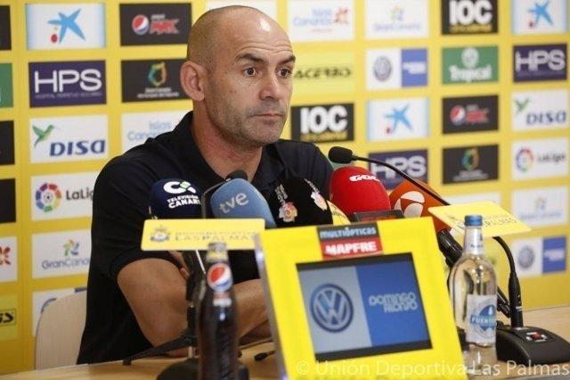 Paco Jémez, entrenador de Las Palmas