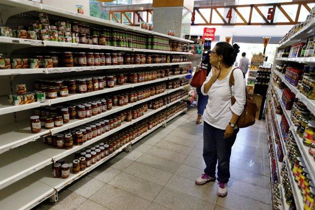 Supermercado en Caracas