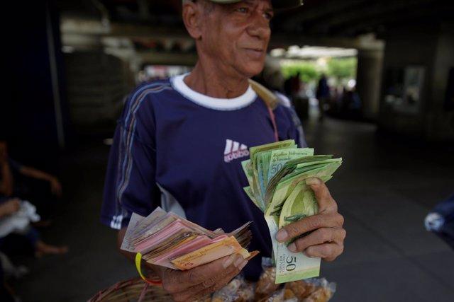 Protestas en Venezuela por el canje de billetes