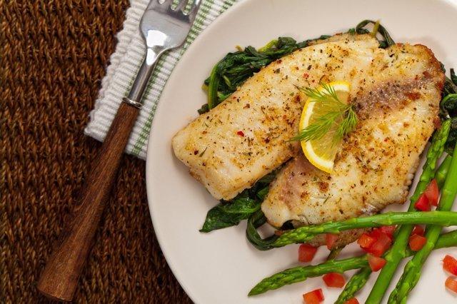 El pescado es muy importante en la dieta de los niños.