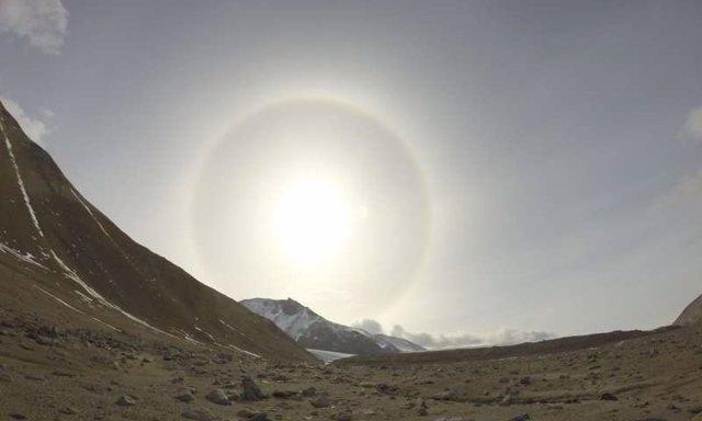 Valles secos de Mc Murdo en el interior de la Antártida