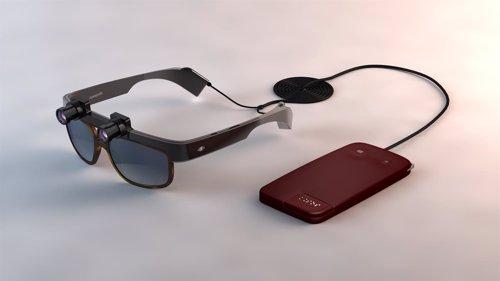 Gafas para ciegos Eyesynth