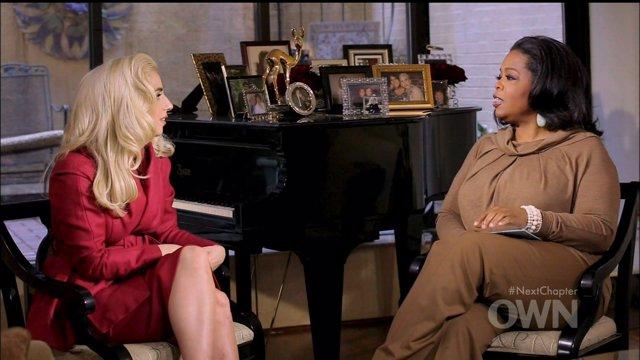 Lady Gaga en el programa de Oprah Winfrey 74938PCN NEW YORK, NEW YORK – Sunday,