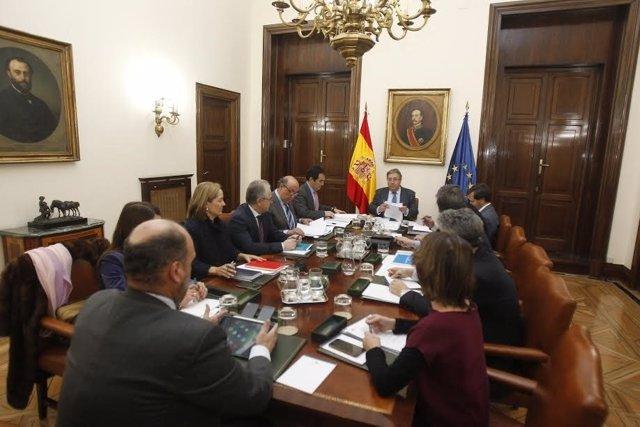 Zoido reúne al Consejo de Dirección de Interior