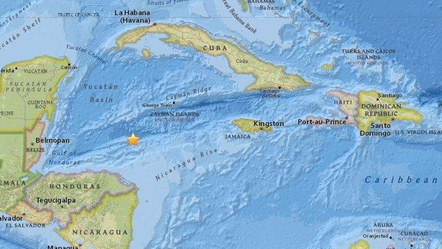 Terremoto de magnitud 7,8 en la región del Caribe
