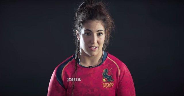 Una de las jugadoras que aparece en el vídeo