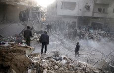L'ONU denuncia la mort de 85 civils pels atacs de les forces sirianes a Ghouta Oriental (REUTERS / BASSAM KHABIEH)