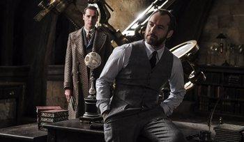 Foto: Así ayudó J.K. Rowling a Jude Law a convertirse en Dumbledore para Animales Fantásticos 2