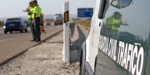 9. Un muerto y dos heridos en una colisión en la A-304 en Puente Genil (Córdoba)