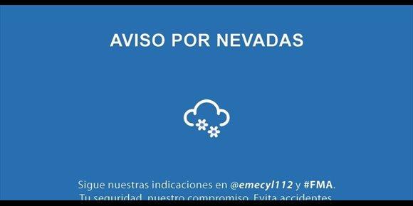 7. Nevadas y fuertes rachas de viento en toda la Comunidad salvo Valladolid