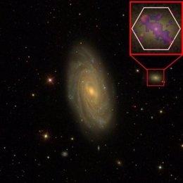 Agujeros negros impiden la formación de estrellas en galaxias enanas