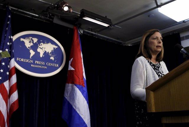 La diplomática cubana Josefina Vidal