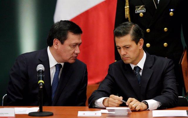 Miguel Ángel Osorio Chong y Enrique Peña Nieto