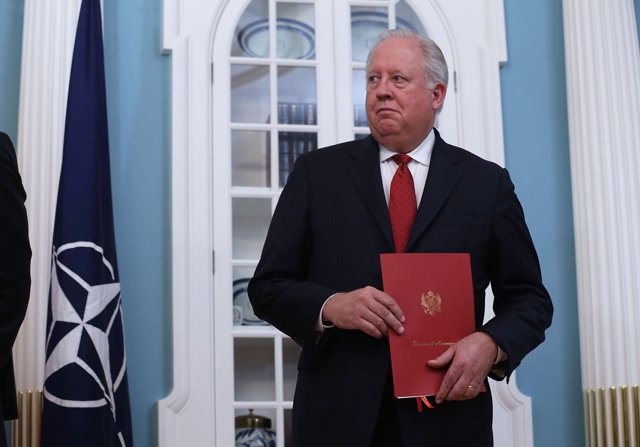 El subsecretario de Estado para Asuntos Políticos de EEUU, Thomas A. Shannon