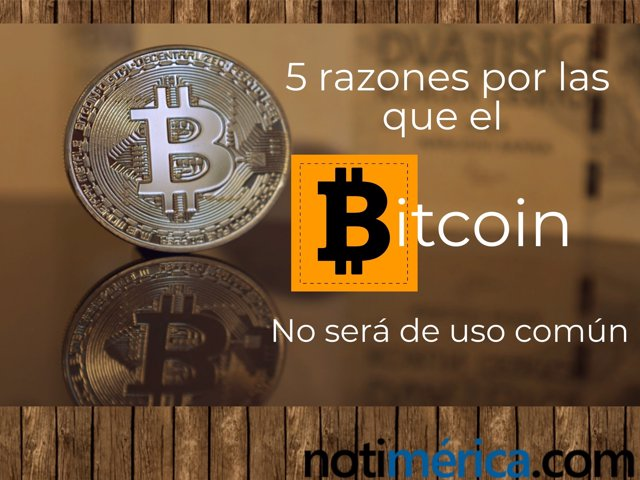 5 Razones Bitcoin