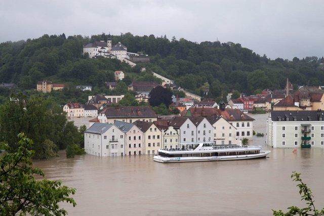 Inundaciones en Baviera